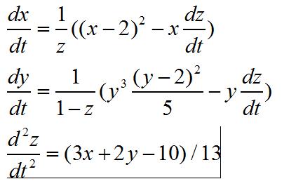 二阶电路微分方程