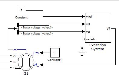 发电机装变压器接线图