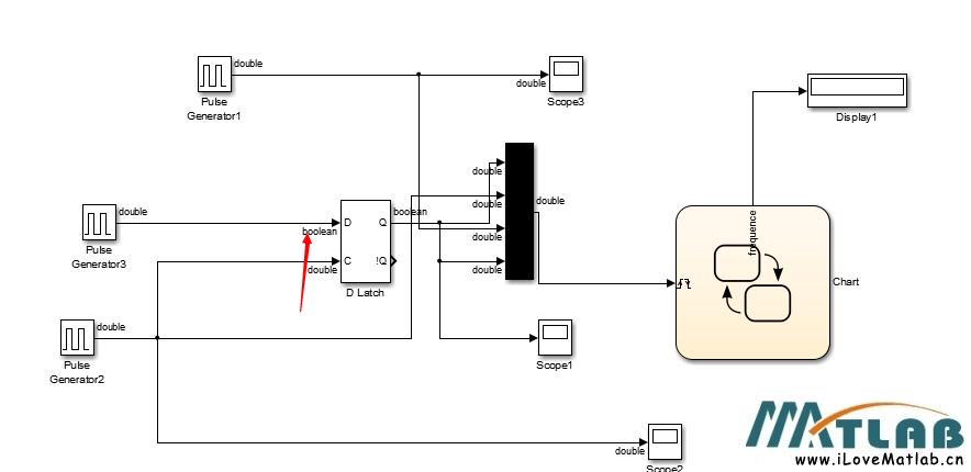 simulink的d触发器d触发器如何用?