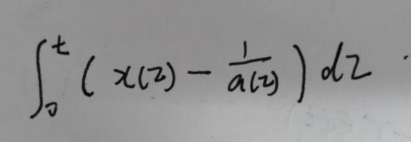simulink中 怎么搭建 时间的不定积分 公式