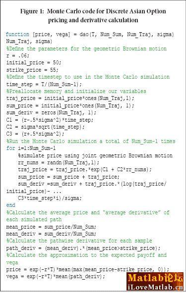 matlab编写蒙特卡洛模拟var的程序