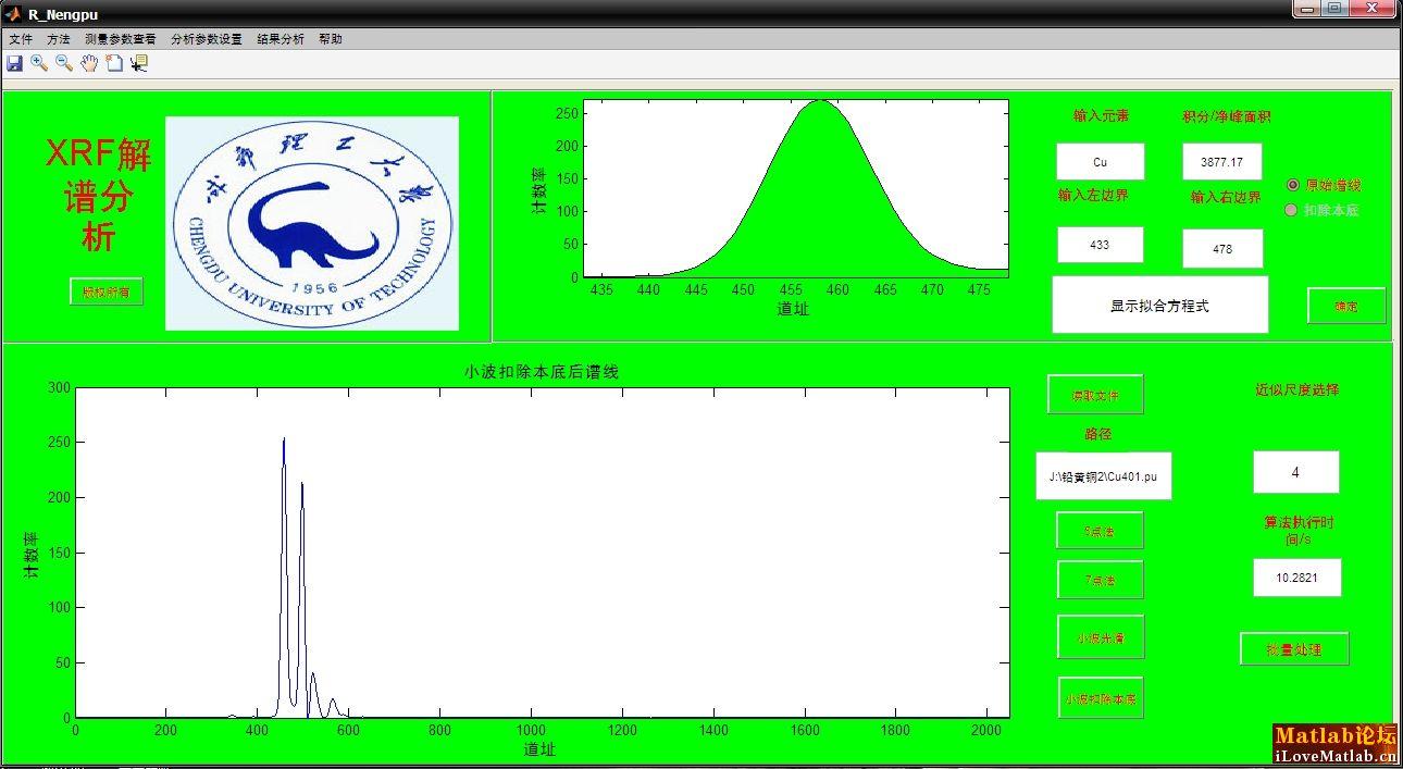 小星星的六孔竖笛乐谱-基于小波多分辨分析的EDXRF解谱软件
