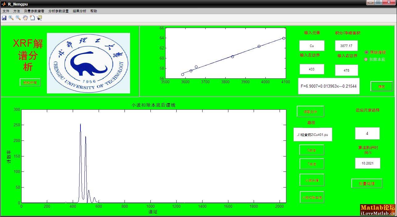 民间小调小妹妹送情郎曲谱-基于小波多分辨分析的EDXRF解谱软件